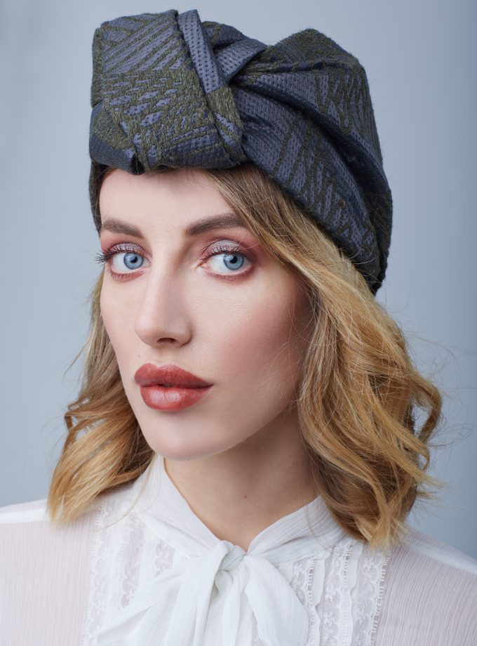 JACQUARD OPEN Fashion Head Wraps