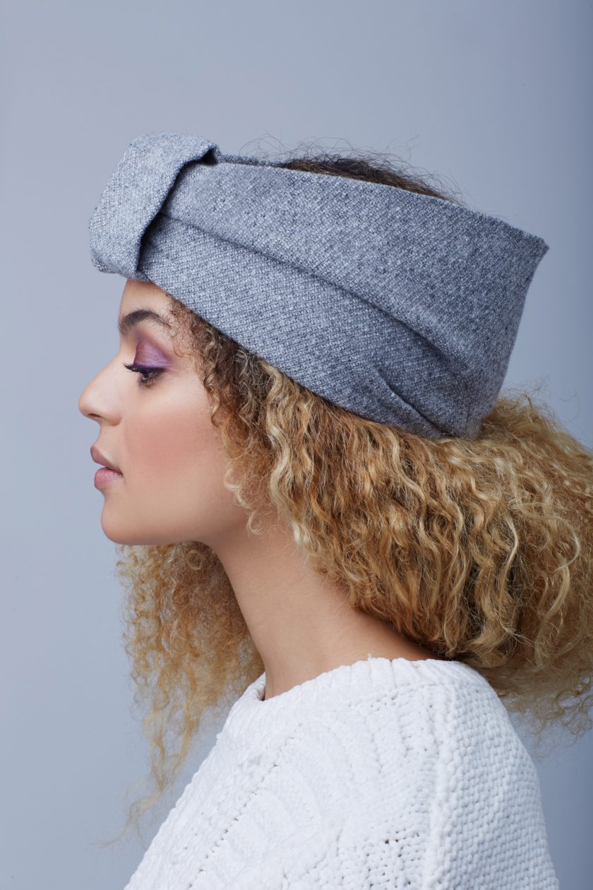 ELEMENTAL GREY TURBAN